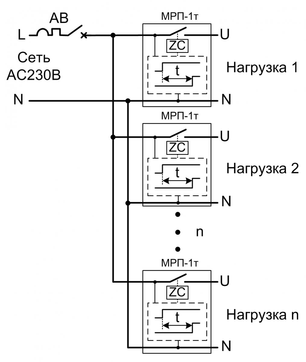 фотосенсор схема подключения