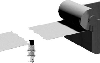 Обнаружение обрыва бумажной ленты