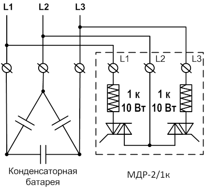схемы подключения модуля