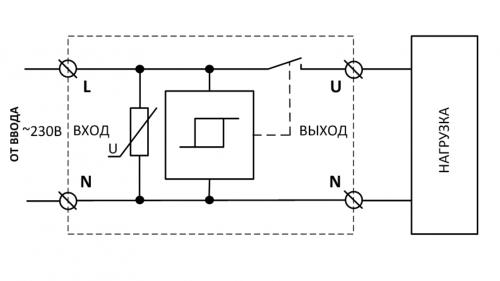 Схема подключения УЗМ-50М, УЗМ-51М