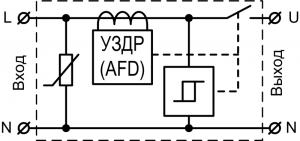 Схема подключения УЗМ-51МД