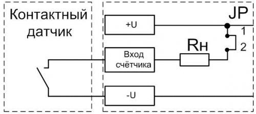 Подключение контактного датчика к СИМ-05т-3-17
