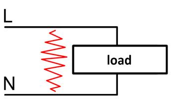 Network failure - parallel arc