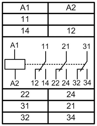 Схема подключения МРП-3М