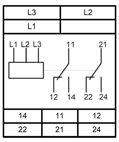 Схема подключения РКФ-М05