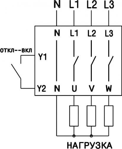 Схема подключения УЗМ-3-63К