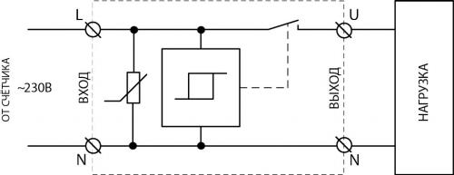 Схема подключения УЗМ-50МД