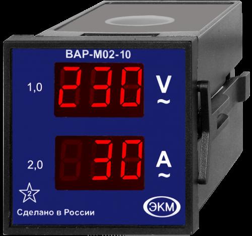 Вольтамперметр ВАР-М02-10 в щит