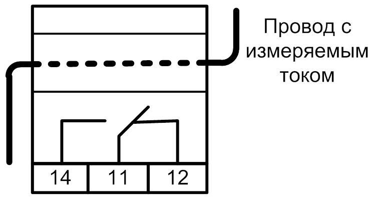 Включение реле РПН-1 для