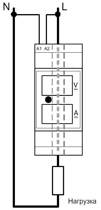 Вольтамперметр меандр