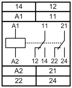 Схема подключения МРП-2М