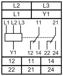 Схема подключения РКФ-М08