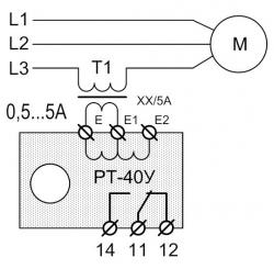 Схема подключения РТ-40У (4)