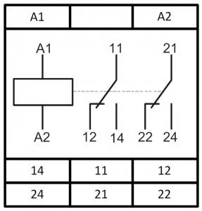 Схема подключения РКН-1-15