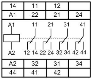 Схема подключения МРП-4-1