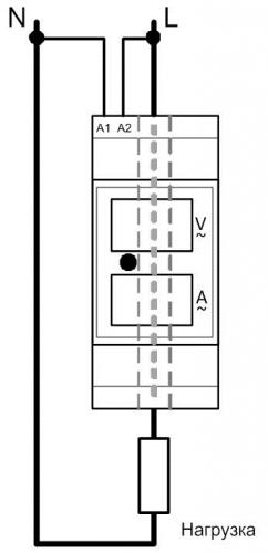 Схема подключения ВАР-М01-08