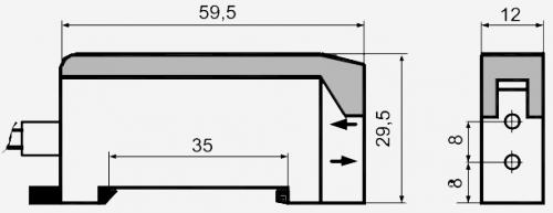 Габариты E3X-A11